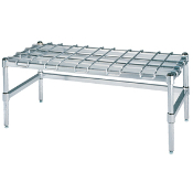 Metro Heavy-Duty Dunnage Rack, Stainless Steel
