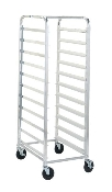 "Mobile ""Knocked Down"" Rack - End Load, Single Section"