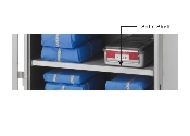 Metro Stationary Solid Shelves for Case Carts
