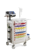 "Pediatric Code Response Cart - 45"" High"