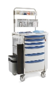 Anesthesia Cart w/Overhead
