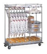 Catheter Procedure Cart - Combination Style
