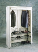 Metro Deluxe Garment Rack with Cover