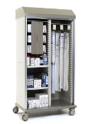 Suture & Catheter Mobile Storage Cart