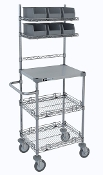 Mobile Task Station w/Stainless Steel Top