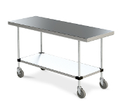 Space Saver 24 inch Deep Work Table