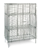 Metro Stainless Steel Security Storage Unit, stationary.