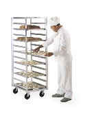 Mobile Tray Rack Unit - Side Load, Single Section