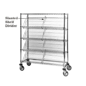 Metro Slanted Shelf Divider