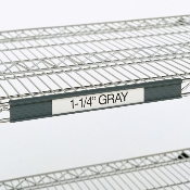 Metro GrayLabel Holder