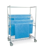 Sterile Wrap Rack