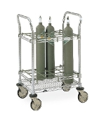Inhalation Therapy Cart