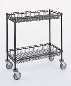 Two Shelf Basket Cart