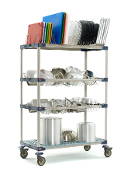 MetroMax 4 Four Tier Bulk Drying and Tray Rack