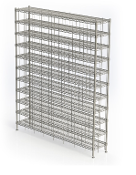 Bootie/Shoe Rack Plus - Chrome