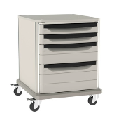 "Starsys 28"" Tall Undercounter Storage Cart"